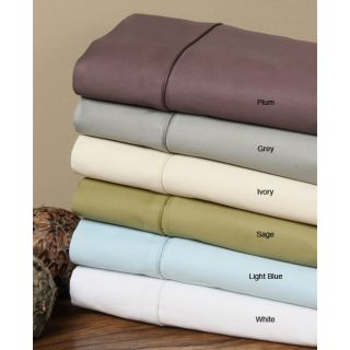 Solid Egyptian Cotton 600 Thread Count Sheet Set (Cal King