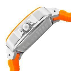 Invicta Womens Angel Neon Orange Polyurethane Watch