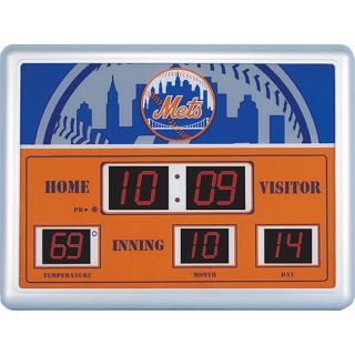 New York Mets Scoreboard Clock