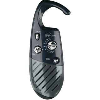 Pollenex Shower Radio   Black