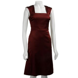 Donna Ricco Womens Cap sleeve Open Back Dress