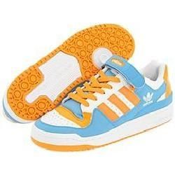 adidas Originals Forum Lo White/Nu Orange/Cyan Athletic