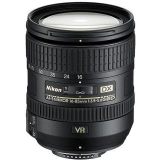 Nikon 16 85mm f/3.5 5.6G Digital SLR Lens