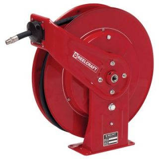 Reelcraft Heavy Duty Oil 1/2 in. Hose Reel   50 ft.   Garage Hose