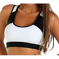 Fajate Womens Sol Racer Back Sports Bra