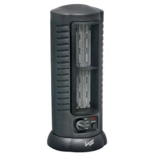Comfort Zone CZ488 Oscillating Ceramic Tower Fan Portable Heater