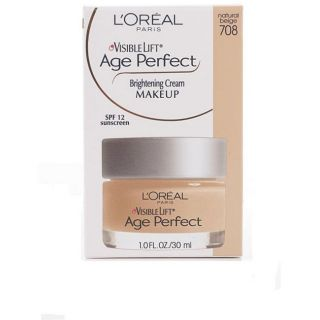 Oreal 708 Natural Beige Age Perfect Visible Lift Brightening Makeup