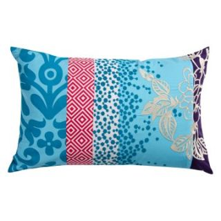 Koko Company 20 in. Wallpaper Oblong Pillow   Decorative Pillows at
