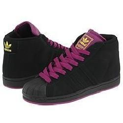 adidas Originals Pro Model II Black/Black/Violet Athletic