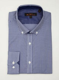 Ben Sherman Small Check Button Down