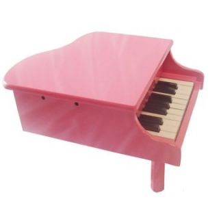 18 Key Kids Toy Grand Piano   Pink   Kids Musical Instruments at