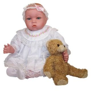 Molly P. Originals Baby Lisa 18 in. Doll with Accessories and Daisy