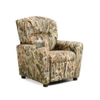 Brazil Furniture Cupholder Child Recliner   Kids Recliners at