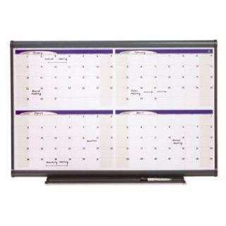 Quartet 36 x 24 in. Prestige Dry Erase Monthly Calendar   Dry Erase