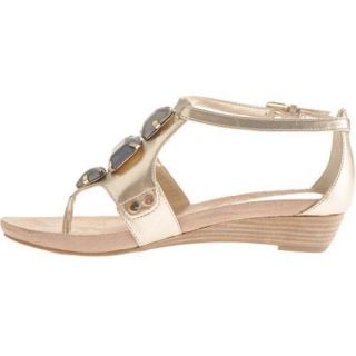 Womens Anne Klein Leticia Light Gold Synthetic