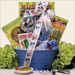 iTunes Therapy Boys Get Well Gift Basket Ages 9 to 12