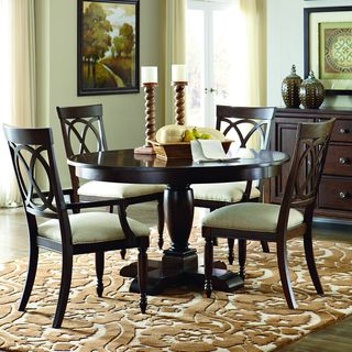 Suttons Bay 5 piece Round Table Dining Set with Arm Chairs