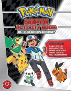 Pokemon Super Activity Book Do You Know Unova? (Paperback