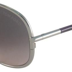 Tom Ford Womens TF0180 Iris Rectangular Sunglasses