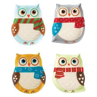 Boston Warehouse Snowy Owls Measuring Spoon Set