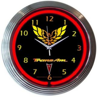 Neonetics GM Trans Am Neon Clock   Clocks