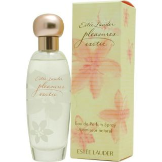 Estee Lauder Pleasures Exotic Womens 3.4 ounce Eau De Parfum Spray