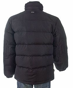 Sean John Mens Ripstop Down Bubble Jacket
