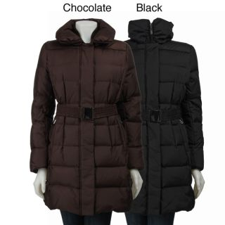 Gallery Womens Zip front 3/4 length Down Jacket