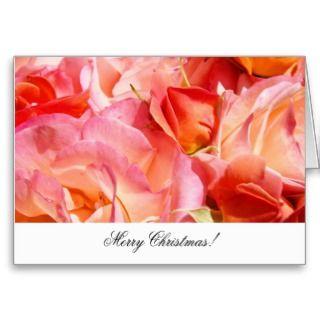 Merry Christmas! greeting cards custom Business