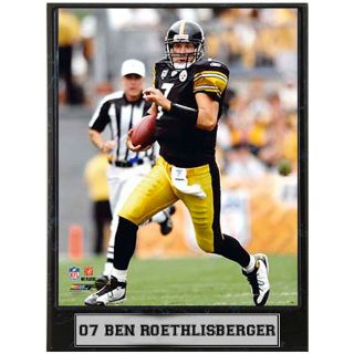 Ben Roethlisberger 9x12 inch Photo Plaque