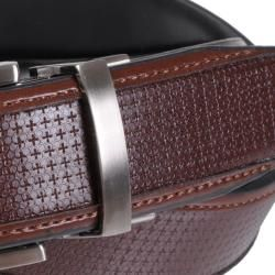 Geoffrey Beene Mens Soft Touch Reversible Leather Dress Belt
