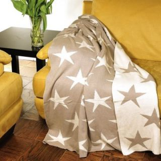 Darzzi 100% Cotton Stars 50 x 60 Throw