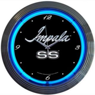 Neonetics Impala Neon Clock   Clocks