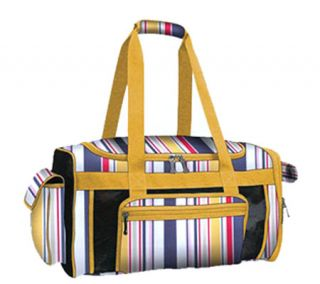 Pack N Paws Yellow/Multi Duffle Pet Carrier