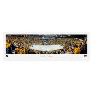 Blakeway Panoramas Nashville Predators Playoffs Unframed NHL Wall Art