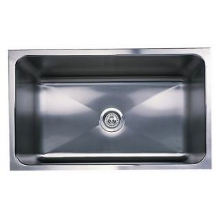 Blanco Magnum Large Single Bowl Kitchen Sink with Apron   Kitchen