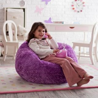 Ace Bayou Small Chenille Lounger Bean Bag Chair   Kids