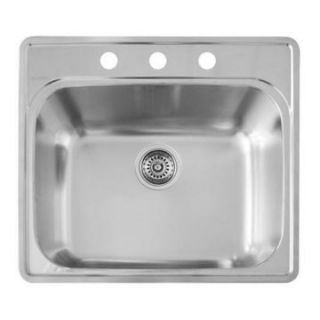 Blanco Essential Laundry 3 Hole Kitchen Sink   Kitchen Sinks at