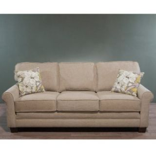 Charles Schneider Willey Beige Sofa with Zone Multi Accent Pillows