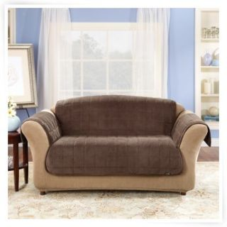 Sure Fit Deluxe Sofa Pet Cover   Sofa Slipcovers