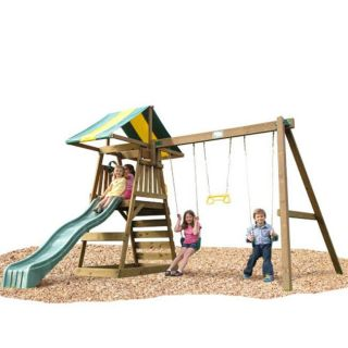 Play Time Sudbury Series Swing Set with Chain Accessories
