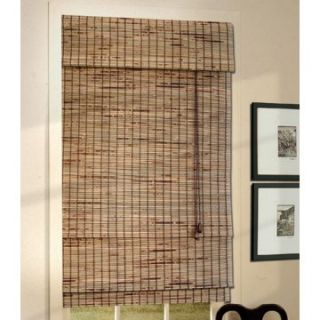Lewis Hyman 01088 Deluxe Bamboo Roman Shade with 6 in. Valance