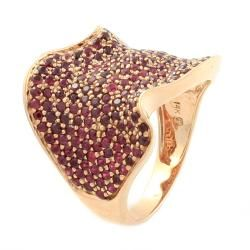 Beverly Hills Charm 14k Rose Gold Ruby Ring