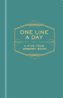 One Line a Day A Five year Memory Book (Hardcover) Today $13.99 5.0
