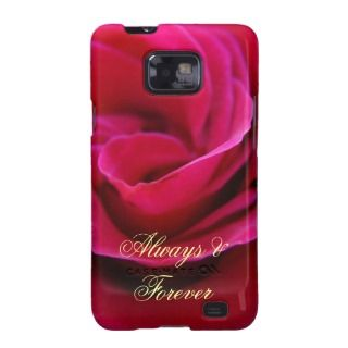 Always & Forever Samsung Galaxy case Pink Rose