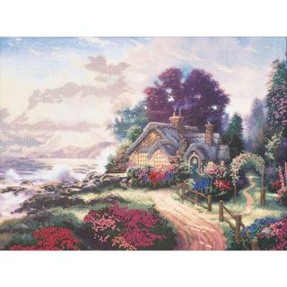 Thomas Kinkade A New Day Dawning Embellished Cross Stitch KiT Today: $