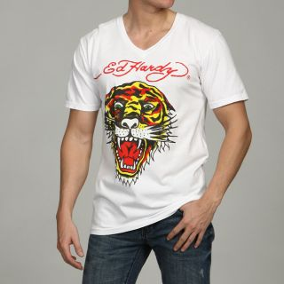 Ed Hardy Mens Tiger T shirt