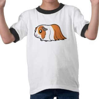 Cartoon Guinea Pig (red dutch) t shirts by SugarVsSpice