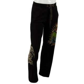 Ed Hardy Mens Panther print Lounge Pants