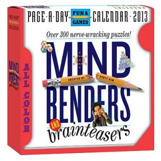 2013 Mind Benders and Brain Teasers Box Calendar